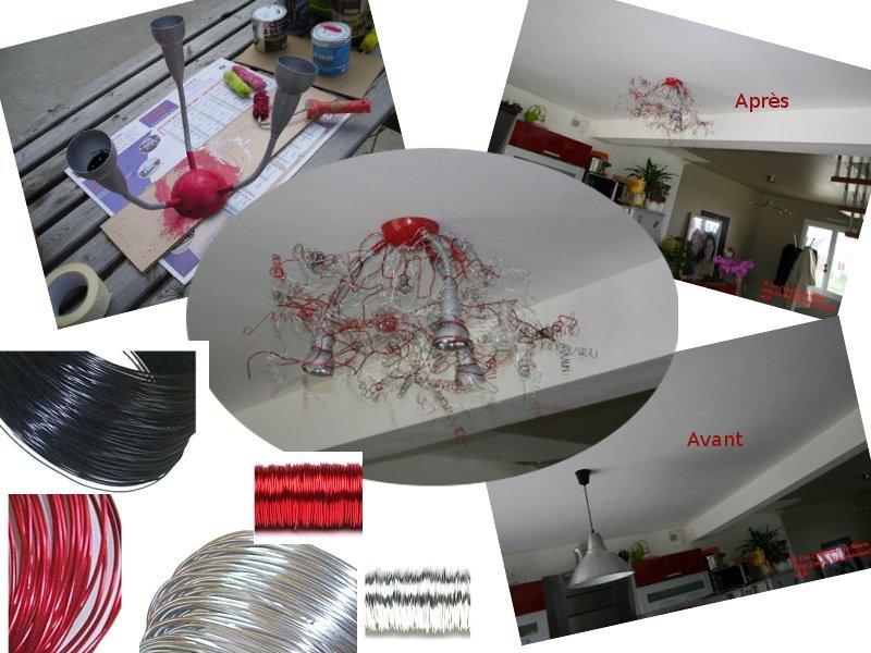lustre fil de fer